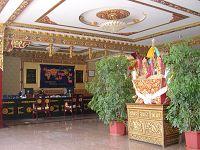 西藏天树花园酒店酒店大厅